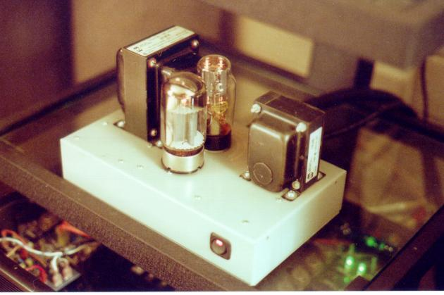 A High Performance, Vacuum Tube Headphone Amplifier